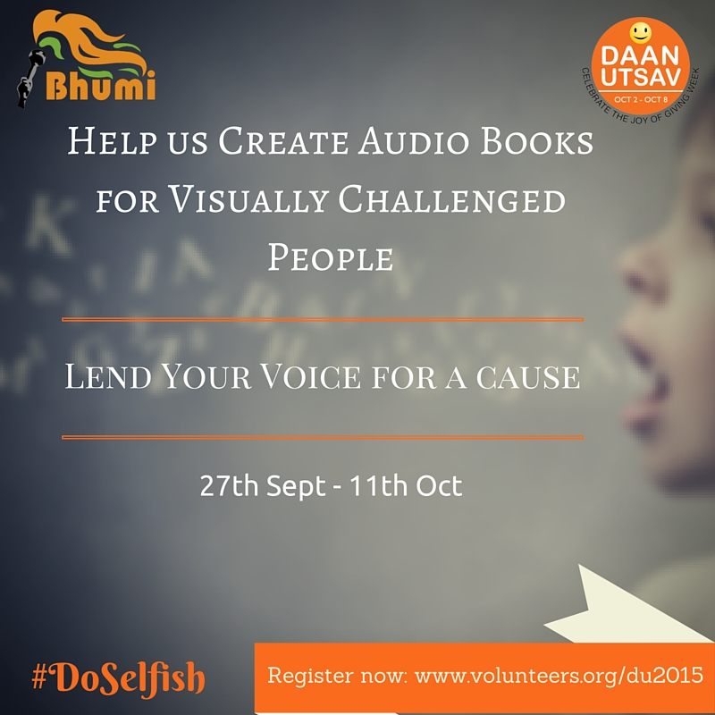 Audio book for visually challenegd (1)